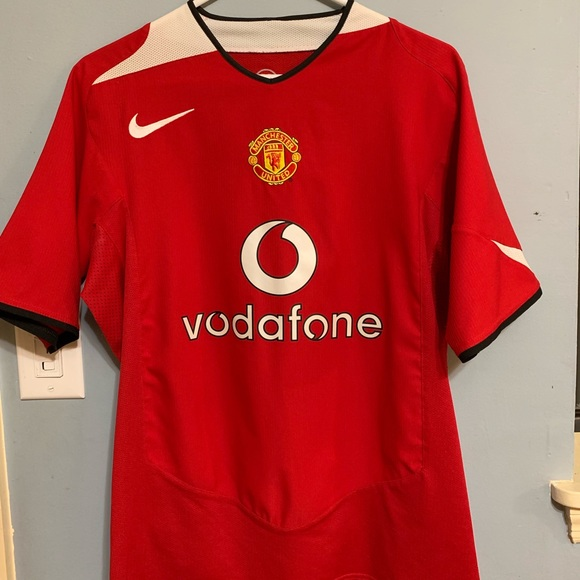 online store a740e 83a7a Manchester United Vintage Home Jersey
